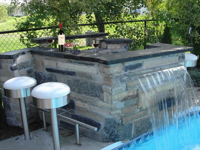 Pav uni paysagiste lapierre en rose for Amenagement terrasse piscine exterieure